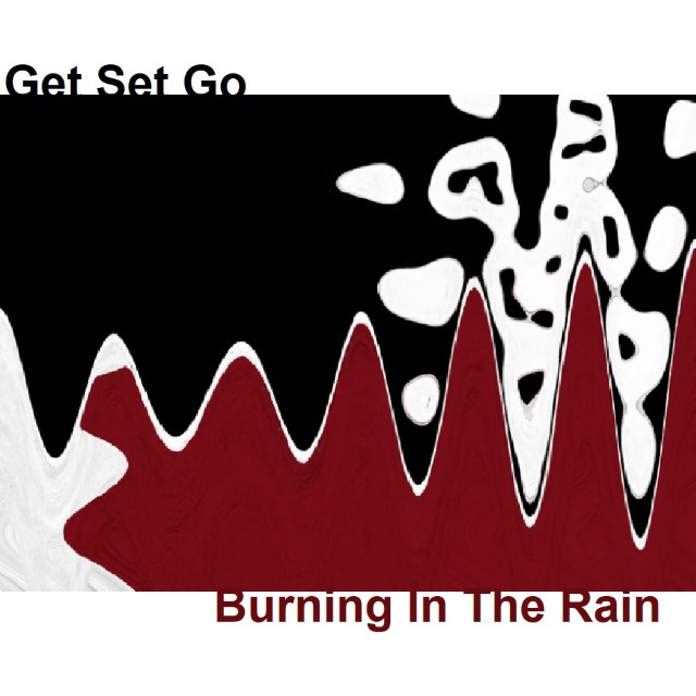Burning In The Rain single cover